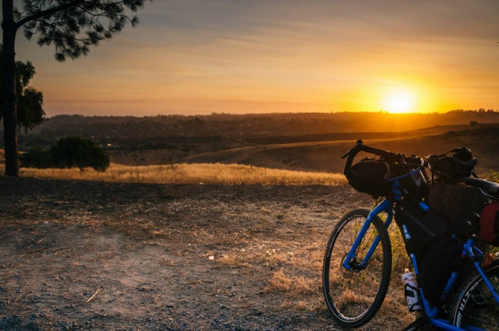 urban camping and bicycle touring