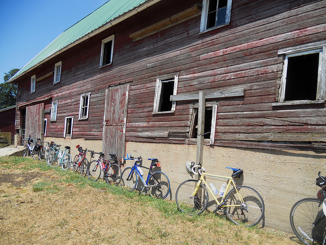 RAGBRAI - bicycle across Iowa