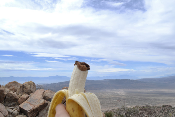 adventure-banana-while-hiking