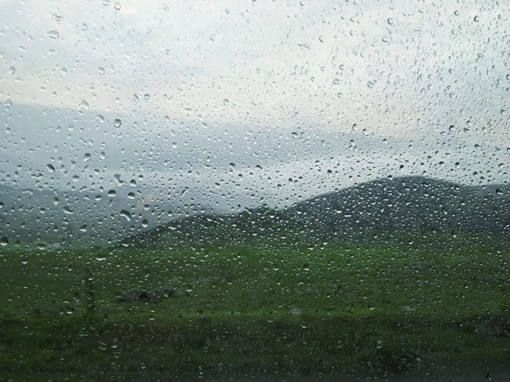 Musings from the Road: Rained in on a Bicycle Tour