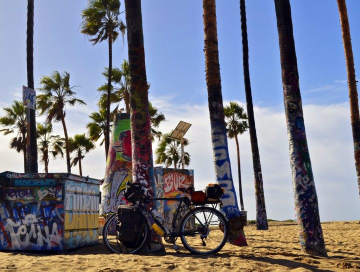 Long Beach bicycle touring