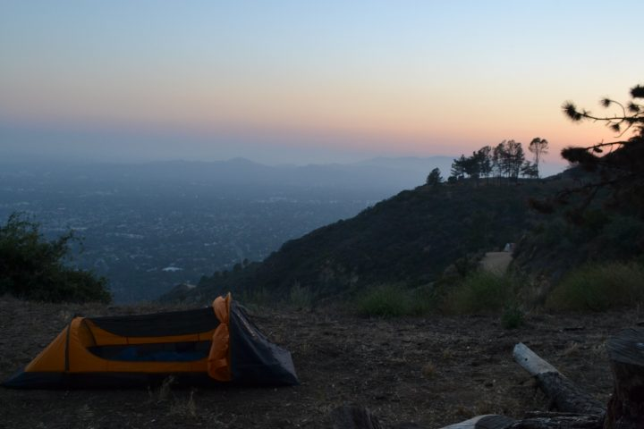 beautiful views over LA - The Pedal Project
